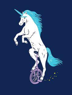 unicorn, unibrow, unicycle