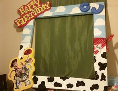 Toy story party frame