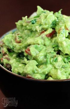 This truly is THE best guacamole EVER. It's the ONLY guacamole recipe you will ever need. A few fresh ingredients & you've got yourself the best guac in town.
