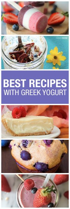Found out how to whip up some guilt-free Greek yogurt cheesecake here!
