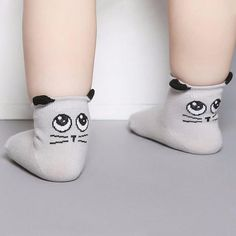 These socks are made of cotton and fit true to size. This product ships in 12-20 business days.