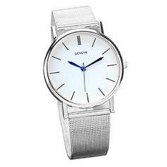 Damen Uhr Armbanduhr Klassisch Rostfreier Stahl Band Analog Quartz Watch(silber) - http://uhr.haus/ularmo/damen-uhr-armbanduhr-klassisch-rostfreier-stahl