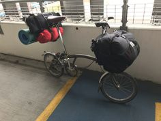 Velo Brompton, Bike Stuff, Bicycling, Outdoor Life, Touring, Boats, Freedom, Camping, Adventure