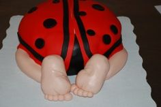 Baby Shower – How to Make a Baby Rump Cake