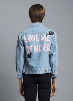 embroidered jacket | designlovefest