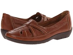 Clarks Ordell Ava Tan Leather - 6pm.com
