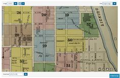 Genealogy Insider - How to Use the Library of Congress' New Sanborn Maps for Genealogy