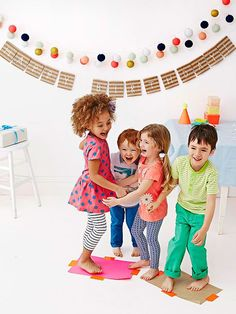 Keeping the kids occupied is child's play with these fun games.