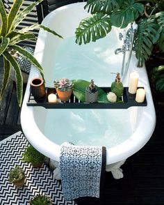 Tem coisa melhor do que tomar um bom banho pra relaxar?