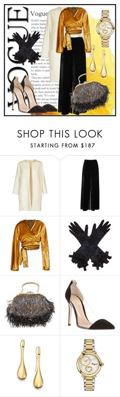 """What to wear: Formal Look"" by elenzark ❤ liked on Polyvore featuring Circolo 1901, M Missoni, Sid Neigum, Gucci, Gianvito Rossi, Roberto Coin and Salvatore Ferragamo"