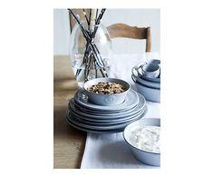 4 Serviettes de table lin, gris - 50*50