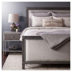 Solid Quilt and Sham Set - The Industrial Shop™ - Grey