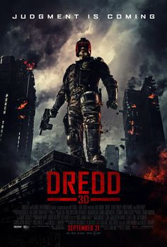 DREDD << One of the most underrated films of all time. Dredd (UK)