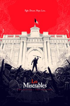 Les Misérables poster by Olly Moss