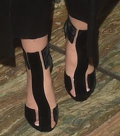 Cheryl Fernandez-Versini in Tom Ford sandals