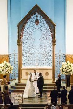 The Bride Wore Pnina Tornai  for Her Opulent Washington, D.C. Wedding   Davide DePas Photography   KleinfeldBridal.com