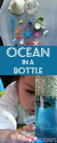 Ocean Sensory Bottle - Ocean in a Bottle