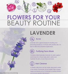 Experts from Robinsons Greenhouses¿ have revealed floral beauty hacks that will save you m...
