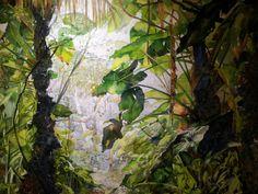 Heleen Cornet: Mount Scenery (Saba)