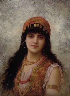 Semenowski Emile Eisman - An Oriental Beauty