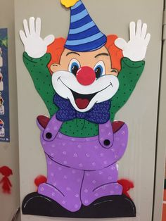 Clown Crafts, Circus Crafts, Carnival Crafts, Carnival Themed Party, Frog Crafts, Circus Theme, Diy And Crafts, Crafts For Kids, Paper Crafts