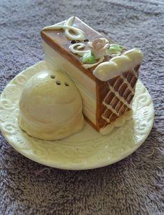 Cake and Ice Cream Salt and Pepper Shakers   eBay