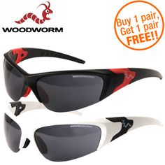 #Golf #Accessories #Woodworm #shopping #sofiprice Woodworm Performance Sunglasses - 2 For 1 - https://sofiprice.com/product/woodworm-performance-sunglasses-2-for-1-202023756.html