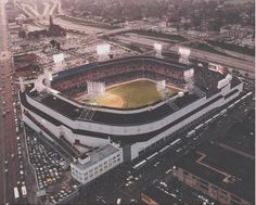 Tiger Stadium, old home of the Detroit Tigers