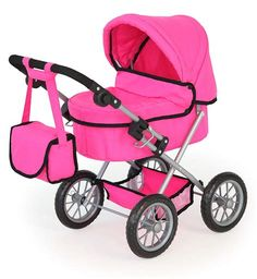 Shop for Bayer Design Doll Pram Trendy - Pink. Starting from Choose from  the 3 best options   compare live   historic toys and game prices. 84f5e945d4