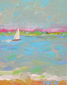 Solo Sail by Karen Fields