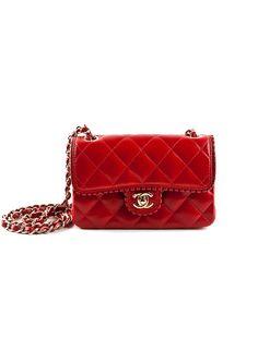 2ecc70914514 Chanel Mini Shoulder Bag.  chanel  red Chanel Mini