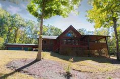 This 3BD/2BA Custom Built Log Home is nestled in Ashley Woods Subdivision on…