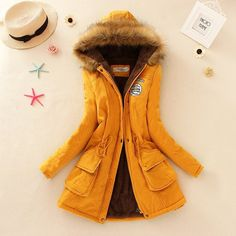 Zimní kabát Rosabel - žlutýPošta Zdarma