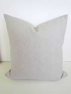 THROW PILLOW  Solid TAN 20x20  Decorative by SayItWithPillows, $18.95