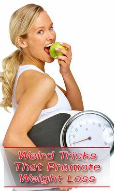 Weird Tricks That Promote Weight Loss http://fitering.com/weird-tricks-for-weight-loss/
