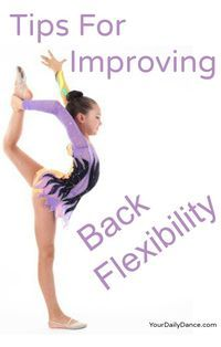 Increasing flexibility in your back...yoga, stretching and barre