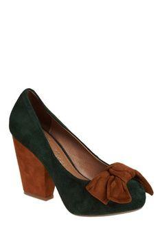 Forest Pump | Mod Retro Vintage Heels | ModCloth.com - StyleSays