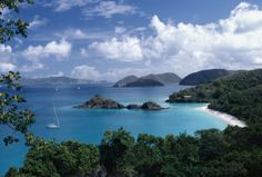The Caribbean, I wish I could be in St. Thomas right now laying on the beautiful beach