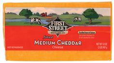 First Street Cheddar Cheese #SFTasteTest - Best cheese for everything!