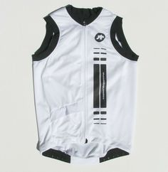 Brand New Verge Black White Waves Short Sleeve Cycling Jersey XL