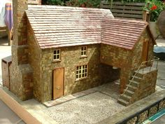 For Sale - FISHERMANS COTTAGE / QUAYSIDE WHARF built from Brain Nickolls design  - The Dolls House Exchange