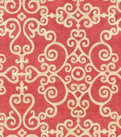 P/K Lifestyles Upholstery Fabric-Tendril/Berry