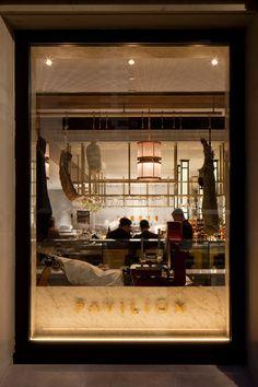 into lighting. pavilion restaurant by into lighting u0026 designlsm c