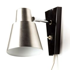 Located using retrostart.com > Wall Lamp by Unknown Designer for Hala Zeist