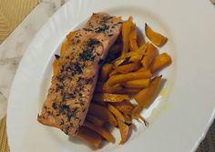 Kakukkfüves Lazac édesburgonya ágyon! | Martina Varga receptje - Cookpad receptek