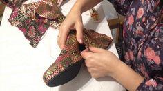 Como forrar zapatos paso a paso Profesional Limpio y Facil