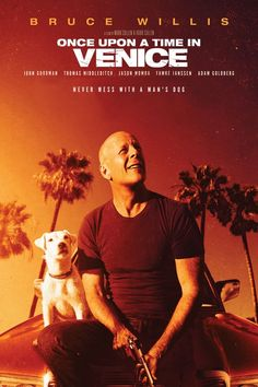 Official theatrical movie poster ( of for Once Upon a Time in Venice Starring Bruce Willis, Jason Momoa, Thomas Middleditch, Famke Janssen Bruce Willis, Stephanie Sigman, Jason Momoa, Love Movie, Movie Tv, Style Movie, Hero Movie, Once Upon A Time, Cinema Posters