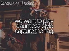 Because of Reading... Divergent!!❤️ The one in the book though.. @Christina Childress Childress Childress Morose WE ARE DOING THIS