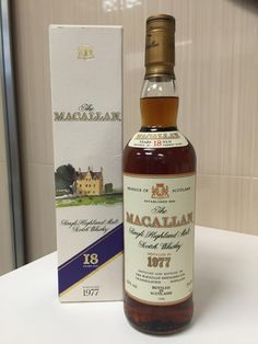 Macallan 1977 / 18 Year Old http://www.bottle-spot.com/posts/82751/brooklyn-new-york-whisky-for-sale--macallan-1977---18-year-old---single-malt-whisky-rare