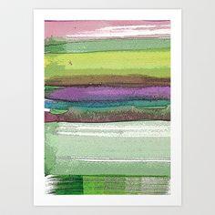 Painterly Stripes 5 by Marianna Shomero